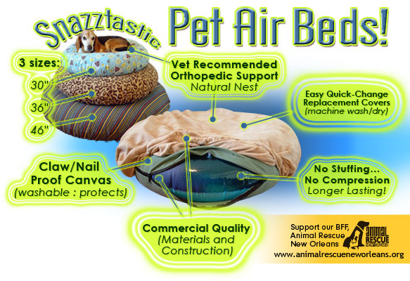 Gertie Gear pet air bed overview of details and benefits