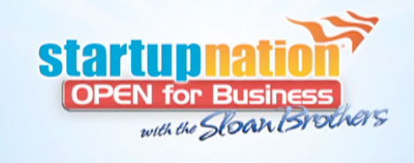 StartUpNation - Open for Business with the Sloan Brothers banner